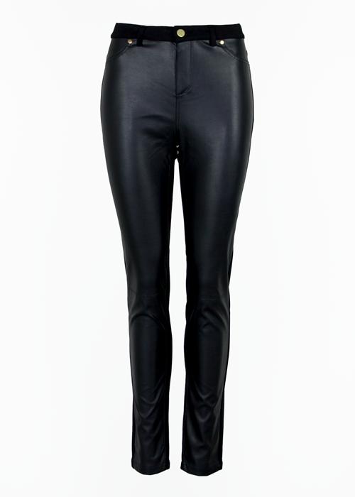 Jenny Leather Black