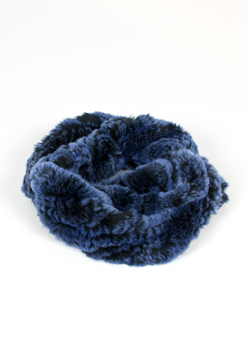 Foulard Black/Blue