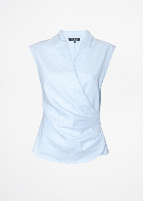 Zia Blue Linen