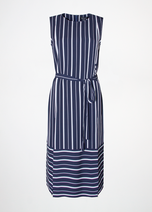 Belle Navy Stripe