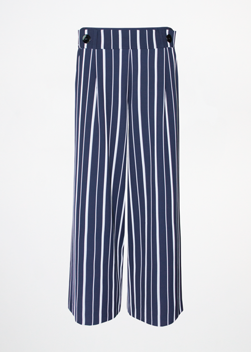 Wilda Navy Stripe