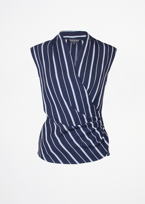 Zia Navy Stripe