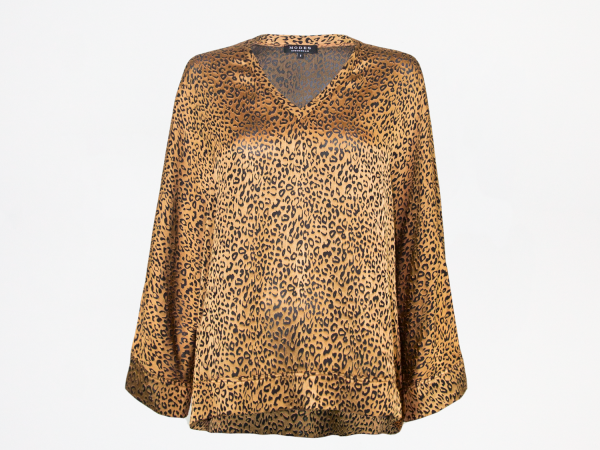 Nora Gold Leopard