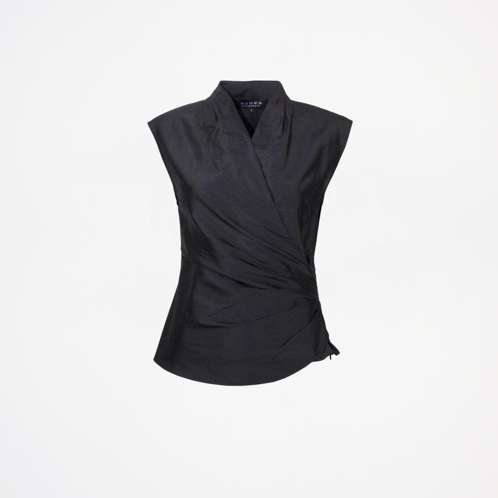 Zia Black Silk